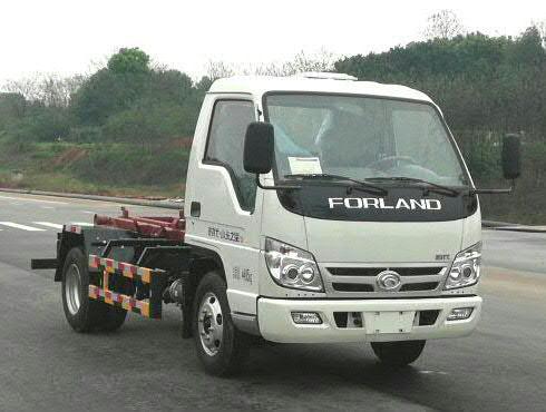 车厢可卸式垃圾车的定义及分类_福田3方钩臂垃圾车