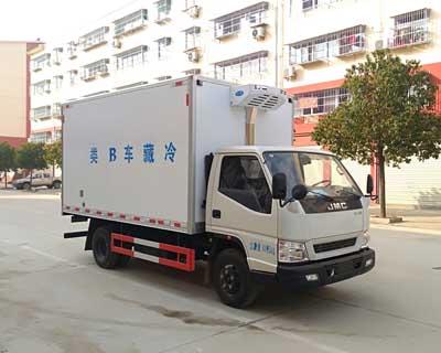 江铃顺达蓝牌4米2宽体冷藏车