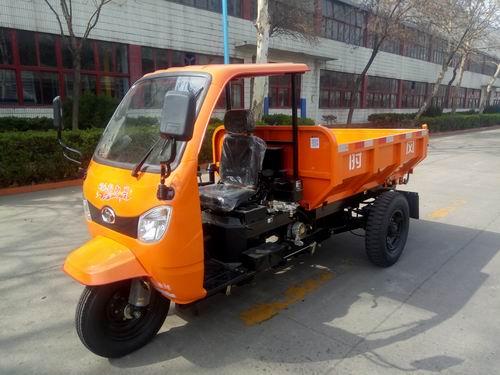 山东时风7YP-1775DJK型自卸三轮汽车