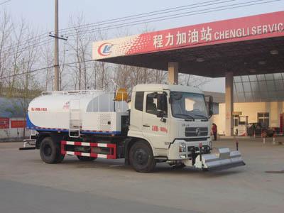 东风天锦道路清洗车图片