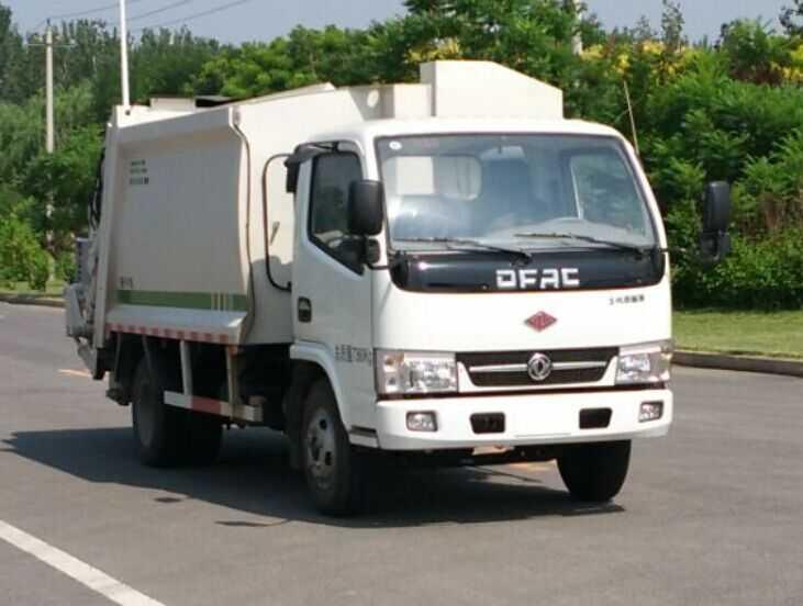 压缩式垃圾车村镇环卫的首选河南四轮挂桶式垃圾车