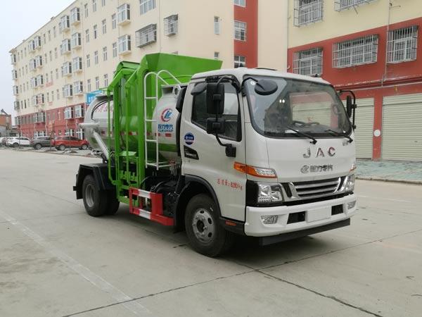 江淮駿鈴V6國六高端餐廚垃圾車