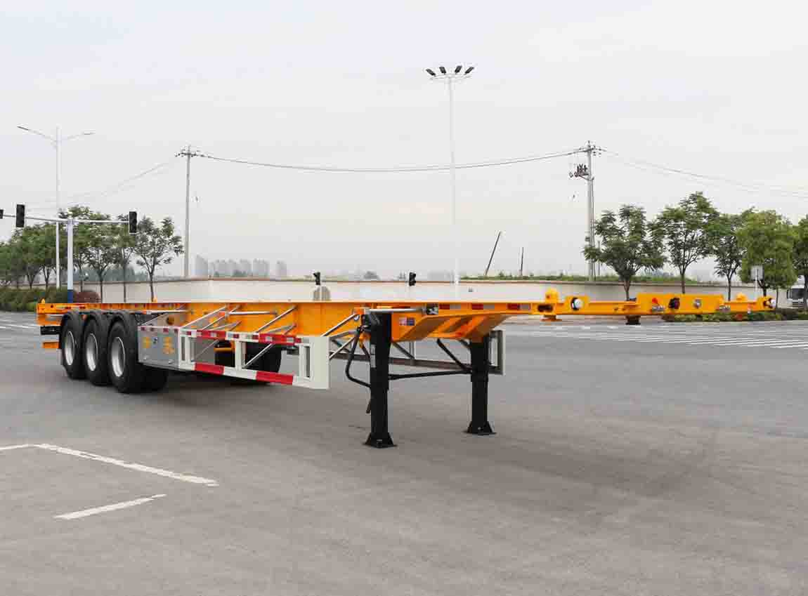 安徽开乐专用车辆AKL9409TJZWS型集装箱运输半挂车
