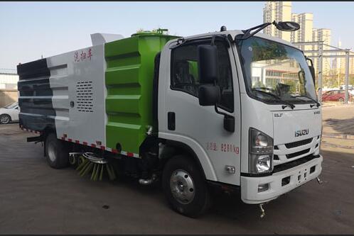 CLW5080TXSHL6洗扫车