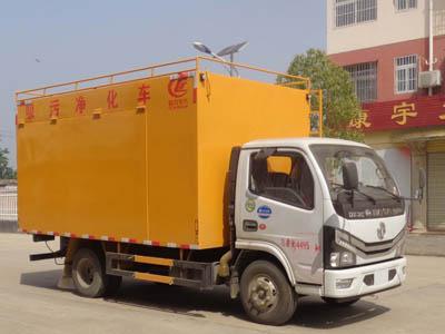 亚博体育官网多利卡国六吸污净化车图片