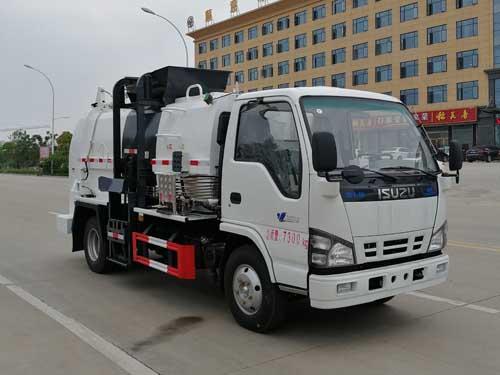 五十铃国六餐厨垃圾车