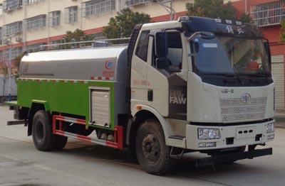 国六解放CLW5181GQXC6清洗车