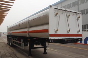 液压子站高压气体长管半挂车图片