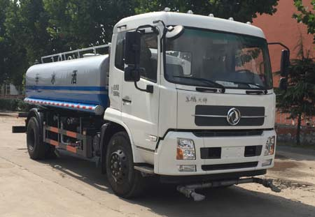 东风天锦国五15吨洒水车图片