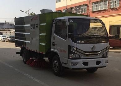 国六扫路车5吨扫路车