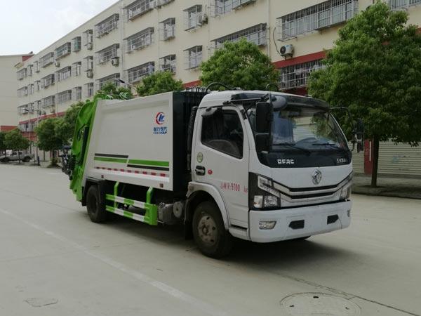 國六東風開普特多利卡8方壓縮式垃圾車