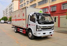 亚博体育官网多利卡国六3800危化易燃气体厢式运输车图片