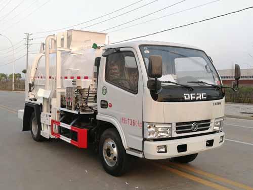 东风多利卡国六餐厨垃圾车 5方多功能垃圾车