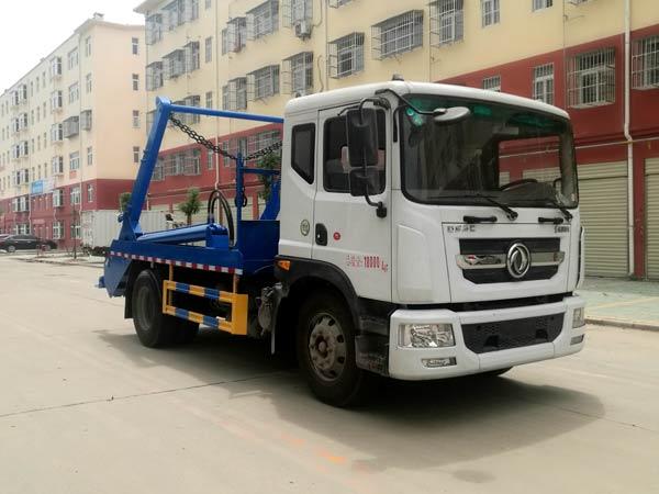 国六东风D9摆臂式垃圾车