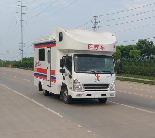 四川現代方艙醫療車