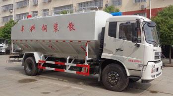 散装饲料罐如何保养40方散装饲料运输车