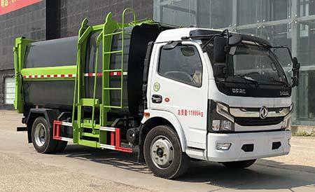 国六大多利卡自装卸式垃圾车
