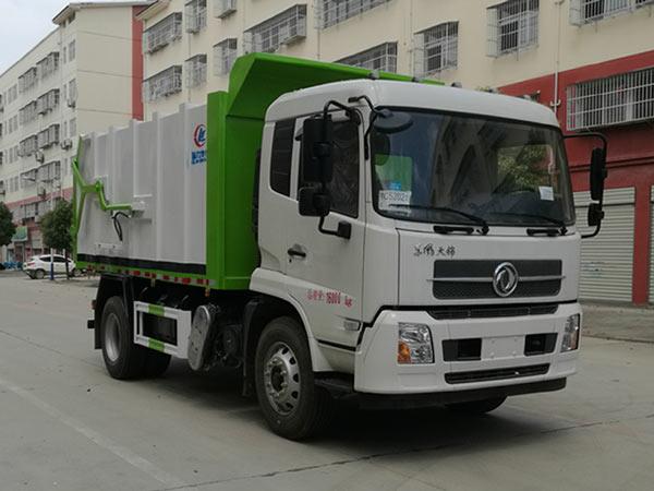 国六压缩式对接垃圾车 东风天锦垃圾车