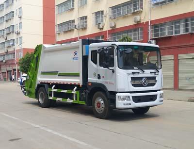 国六东风D9压缩式垃圾车