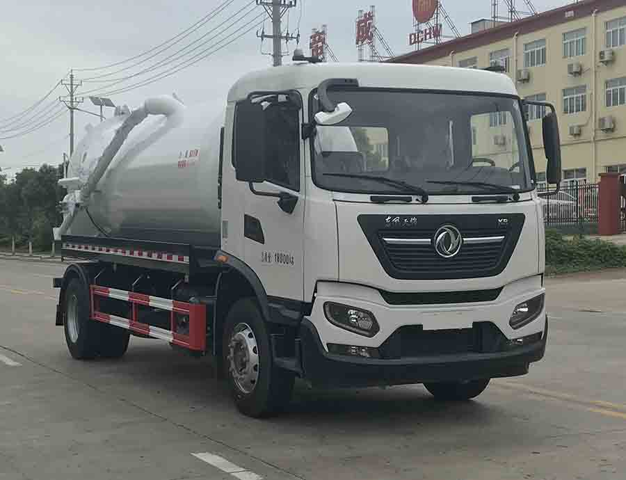 东风天锦12方吸污车(国六)