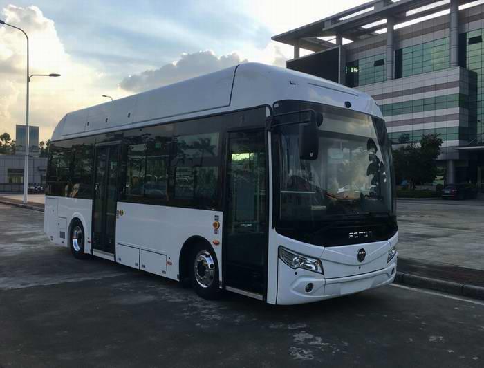 北汽福田汽车BJ6851FCEVCH-2型燃料电池城市客车