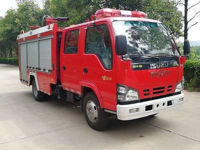 JDF5072GXFPM20/Q泡沫消防车图片