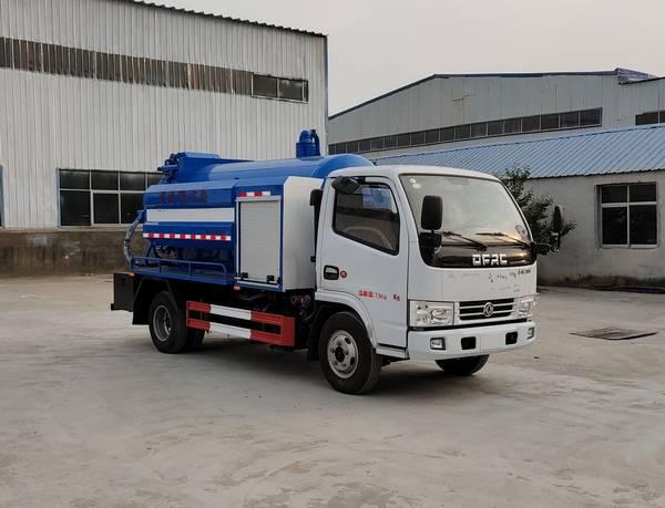 亚博体育官网多利卡国六清洗吸污车图片