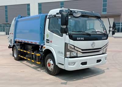 亚博体育官网多利卡D7压缩式垃圾车图片