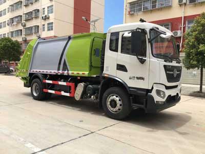 國六天錦壓縮式垃圾車