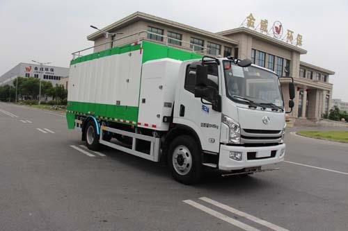 纯电动垃圾桶清洗车图片