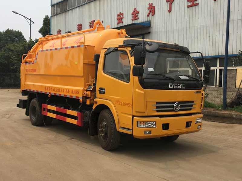 亚博体育官网多利卡国六3800清洗吸污车图片
