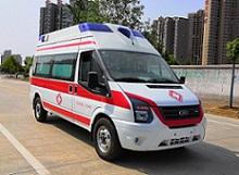 江铃新世代V348国六新版救护车