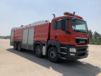 德國曼23噸水罐消防車|進口消防車