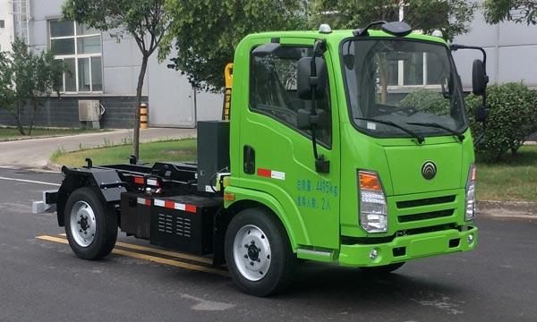 纯电动车厢可卸式垃圾车图片
