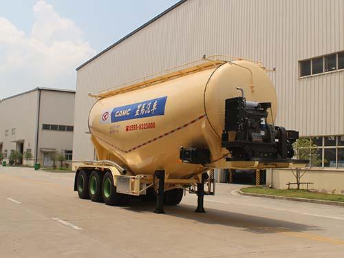 中密度粉粒物料运输半挂车操作规程及注意事项50吨粉粒物料运输车
