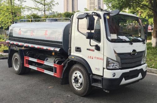 福田7噸灑水車廠家直降0.4萬圖片