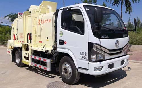 亚博体育官网多利卡国六餐厨垃圾车图片