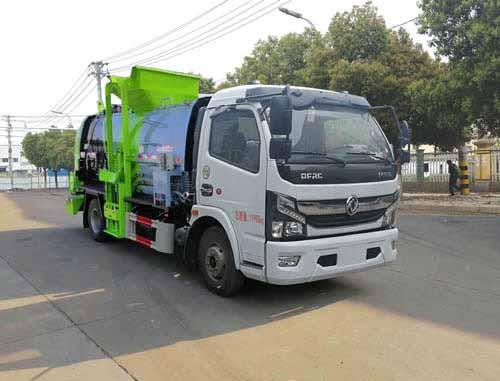 亚博体育官网多利卡国六3800餐厨垃圾车图片