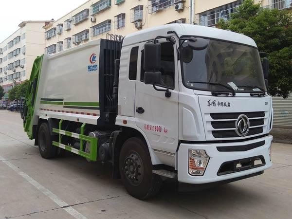 国六东风专底CLW5182ZYSD6压缩式垃圾车