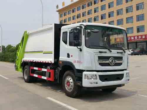 国6D9压缩式垃圾车(12方)