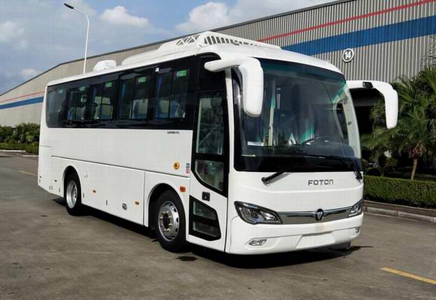 北汽福田汽车BJ6816EVCA型纯电动城市客车