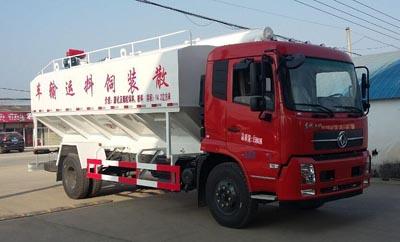 20吨程力威牌散装饲料运输车(CLW5165ZSLD5)型配置与价格介绍15吨散装饲料运输车