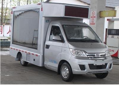 户外LED宣传车显示屏广告设计的六大要点江门广告宣传车租赁