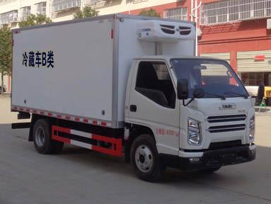 蓝牌江铃国六冷藏车