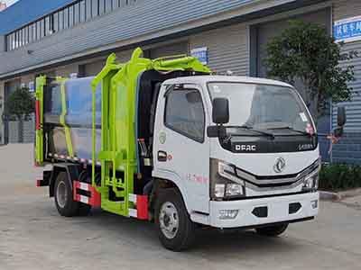 多利卡5方壓縮式對接垃圾車