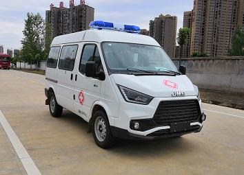 国六江铃特顺监护型救护车
