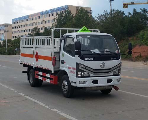 東風多利卡藍牌國六氣瓶運輸車