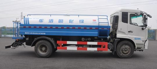 东风天锦15方国五绿化喷洒车图片