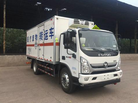 国六福田黄牌医疗废物转运车