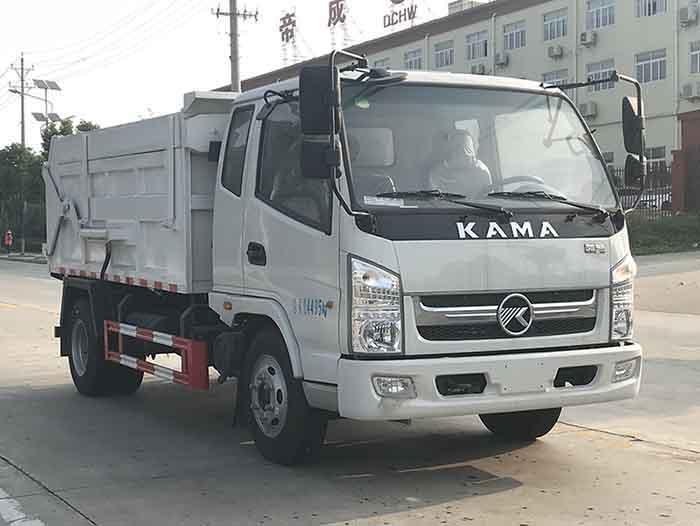 凯马5方压缩式对接垃圾车